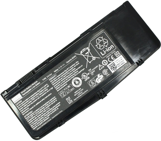 Dell Alienware M17x R1 Battery 85wh 9 Cells Replacement Dell Alienware M17x R1 Battery